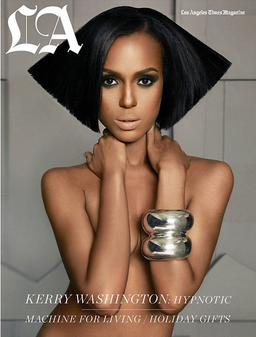 Kerry Washington on The Cover